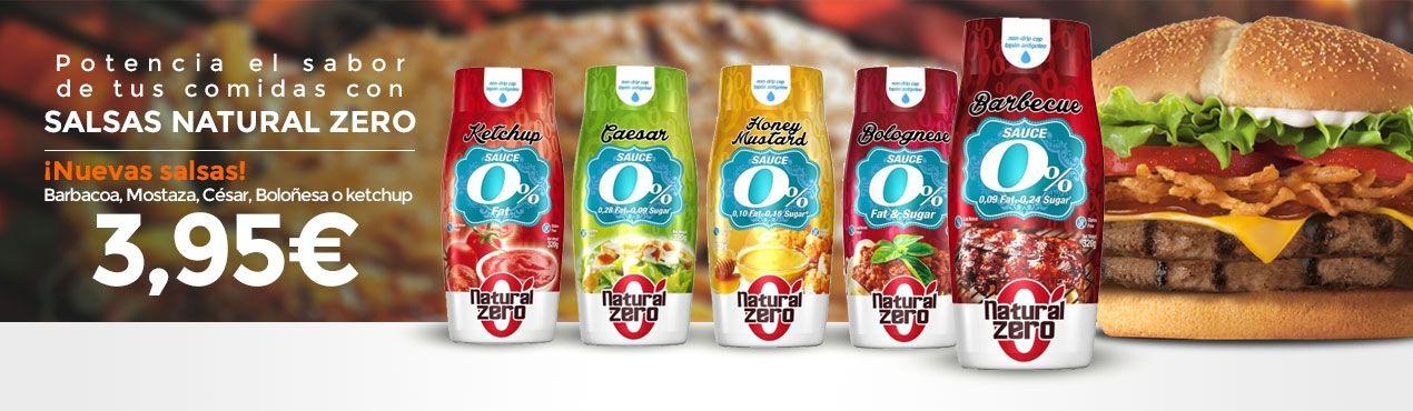 Salsas Natural Zero potencian el sabor de tus platos sin calorías