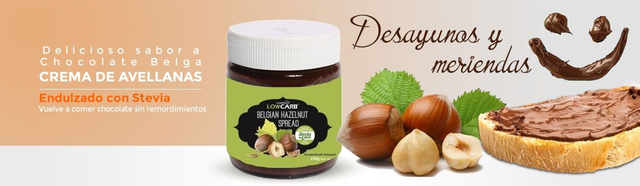 Vuelve a comer chocolate belga endulzado con stevia en los desayunos y meriendas