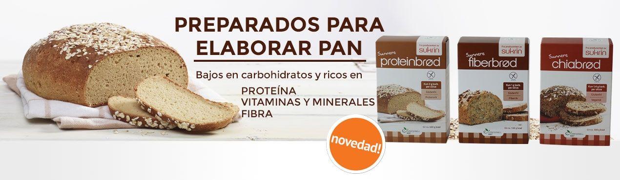 Nuevo: preparado para elaborar pan de Sukrin bajo en carbohidratos y rico en proteínas, vitaminas, minerales y fibra