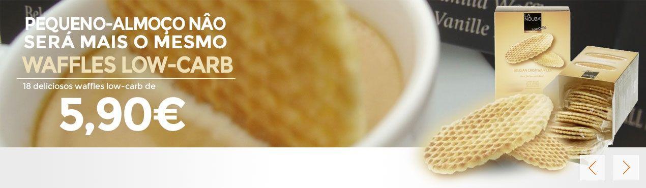 Deliciosos waffles low-carb